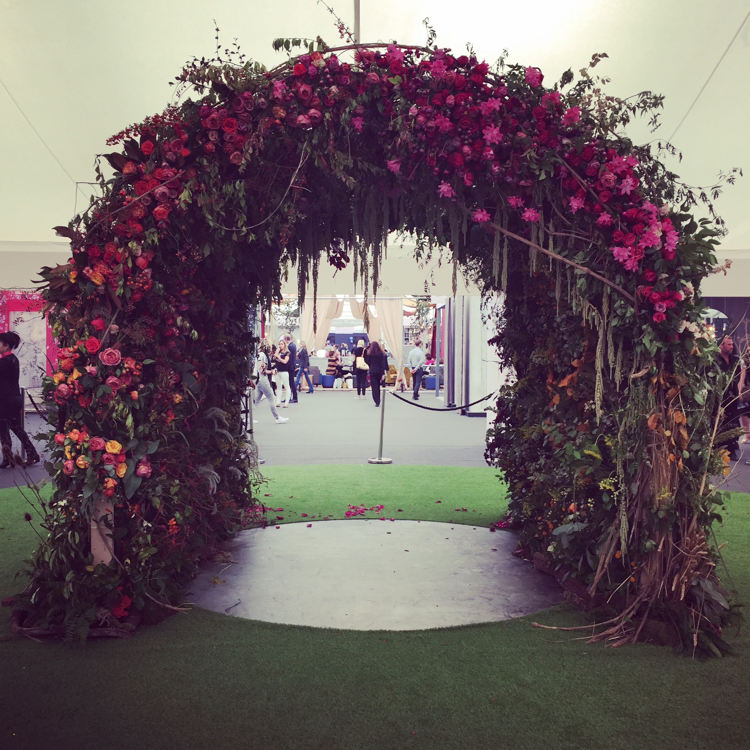 Flower Arch For Wedding: Winter Wedding Floral Arches